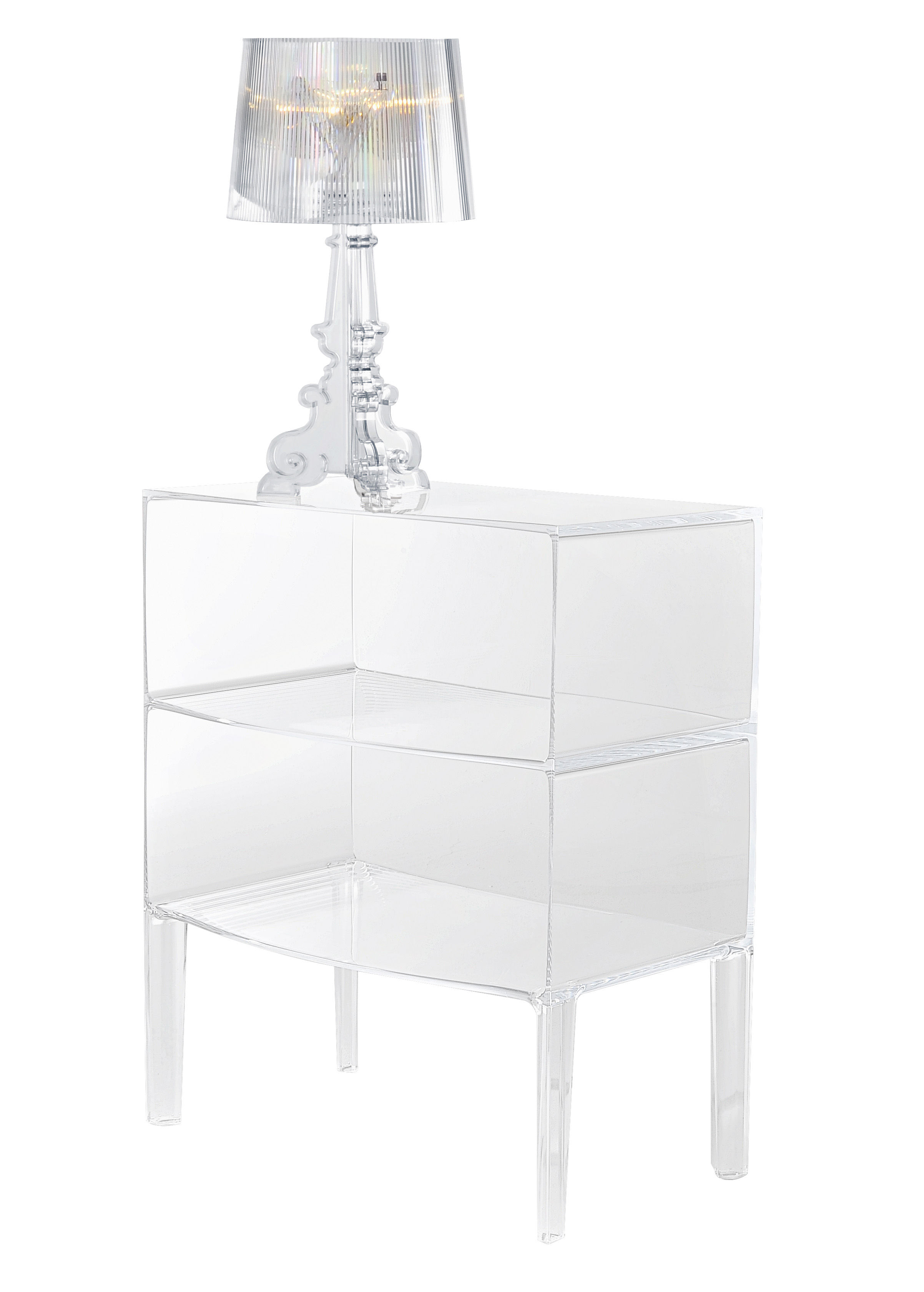 Commode Ghost Buster Cristal - Kartell | Made In Design