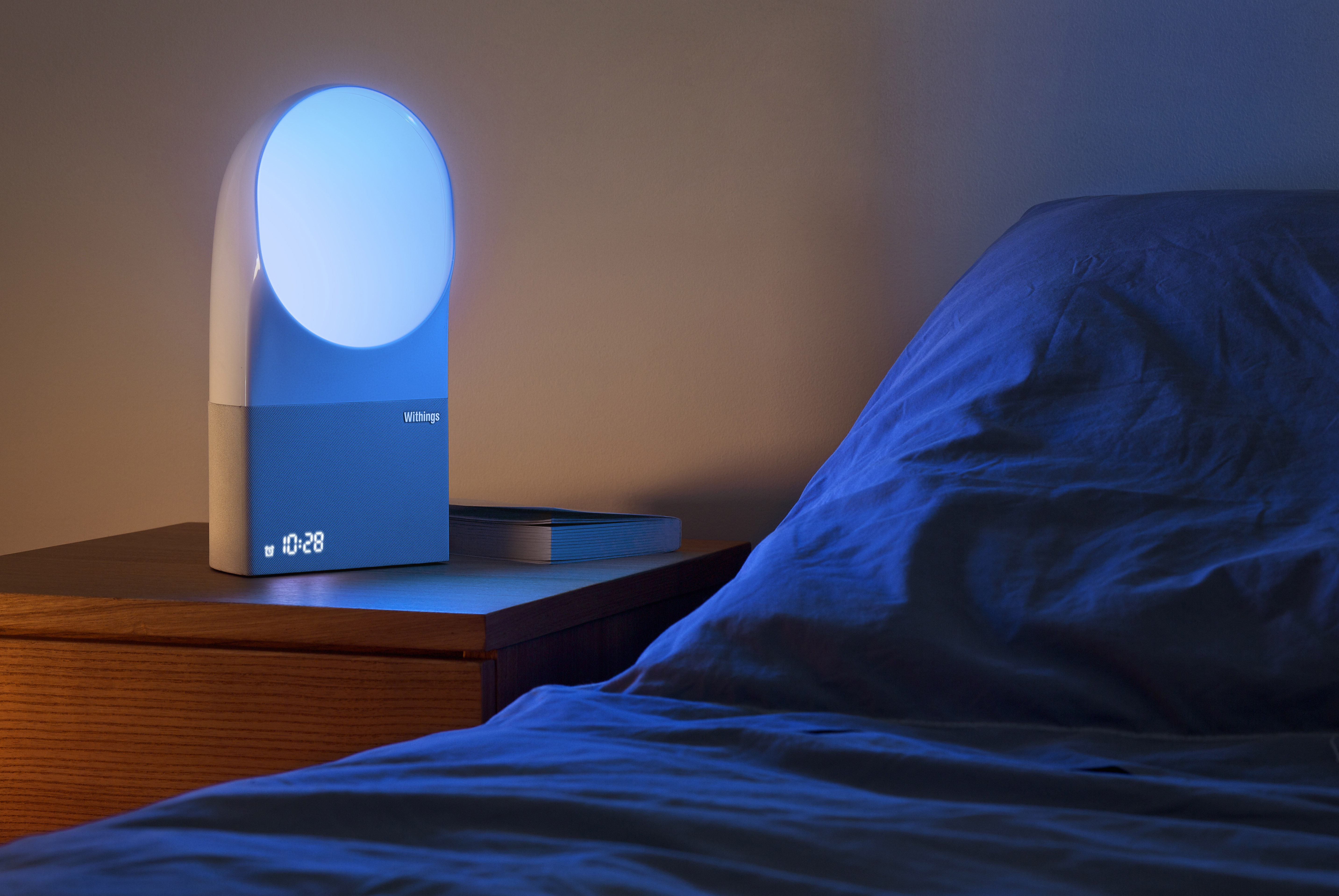 Aura Connected Alarmclock White By Nokia