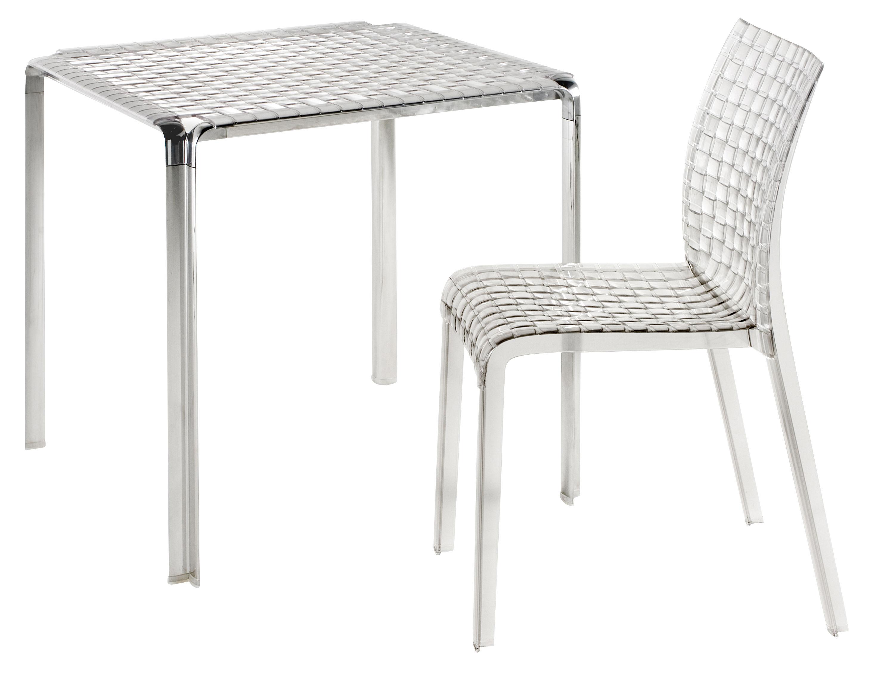 Scopri sedia ami ami trasparente di kartell made in - Sedia kartell trasparente ...