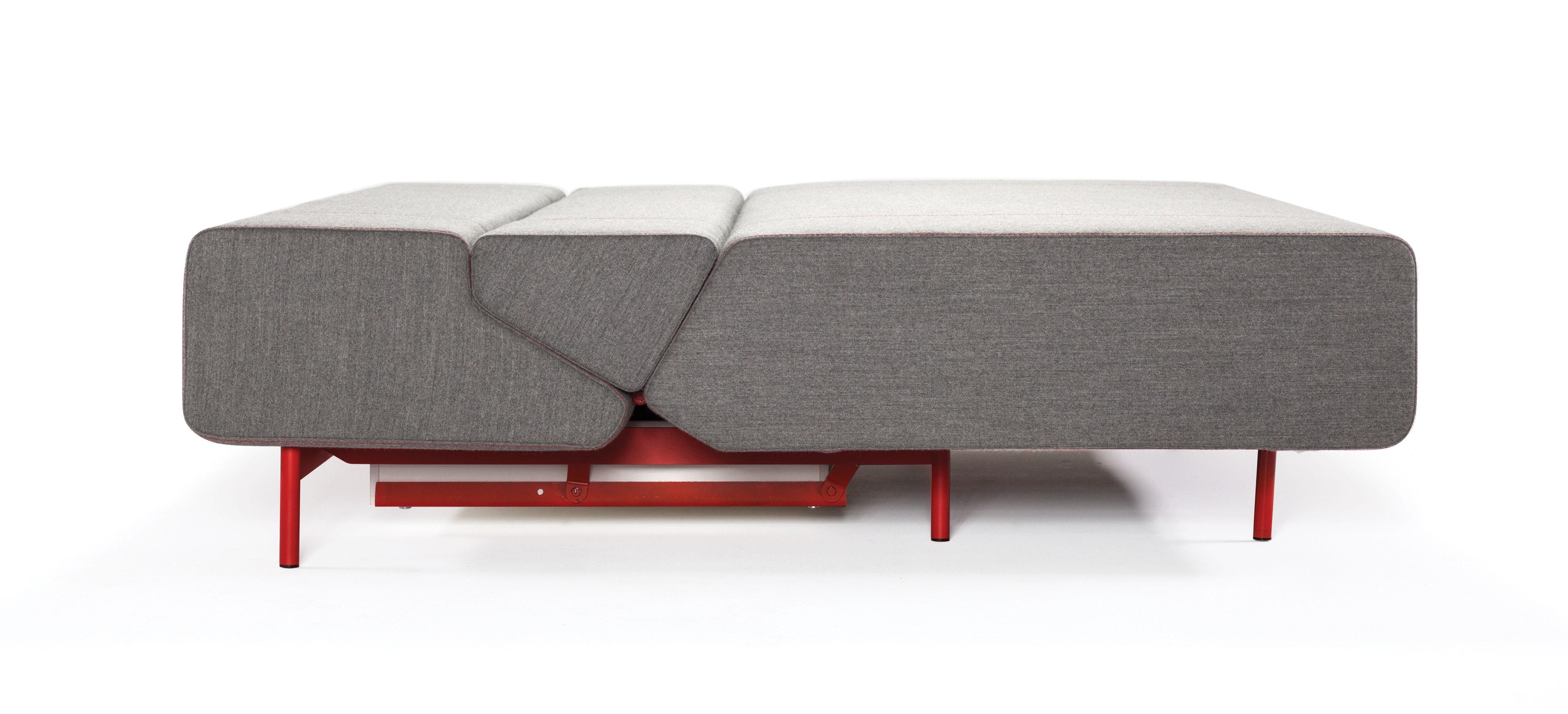canap convertible pil low 3 places l 200 cm gris pi tement jaune prostoria ltd. Black Bedroom Furniture Sets. Home Design Ideas