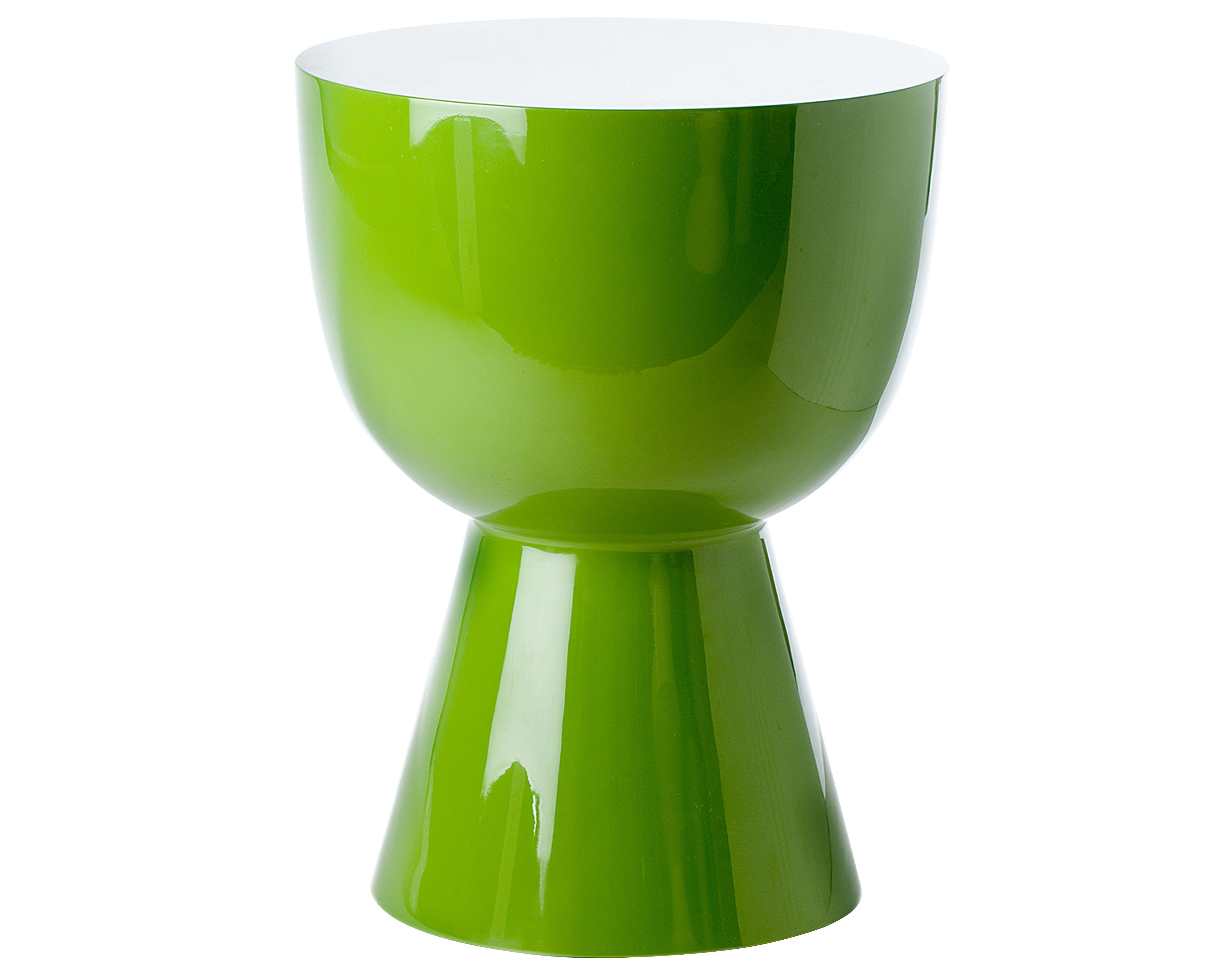 tabouret tam tam plastique vert pols potten. Black Bedroom Furniture Sets. Home Design Ideas