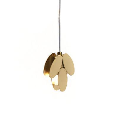Image of Sospensione Foliae - / 3 foglie - oro 24 carati di Opinion Ciatti - Oro - Metallo