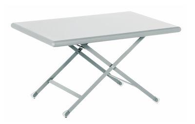 Mobilier - Tables basses - Table basse Arc en Ciel / Pliante - 50 x 70 cm - Emu - Aluminium - Acier verni