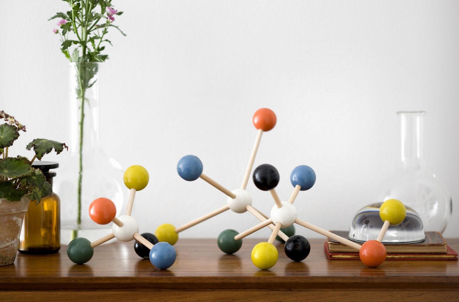 scopri jeu de construction molecule building set. Black Bedroom Furniture Sets. Home Design Ideas