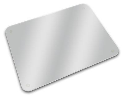 Planche à découper / dessous de plat, plateau - 40 x 30 cm - Joseph Joseph transparent en verre