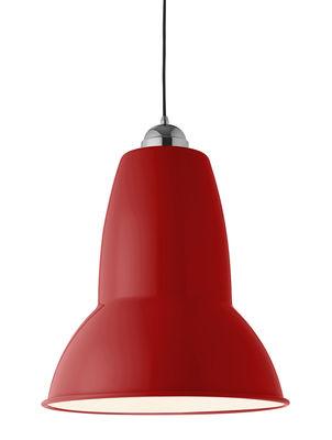 Suspension giant 1227 h 56 5 cm rouge anglepoise - Luminaire industriel la giant collection par anglepoise ...