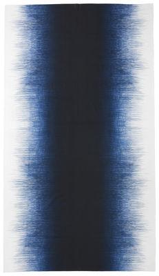 Nappe en tissu Pen / 140 x 240 cm - Ferm Living bleu nuit en tissu