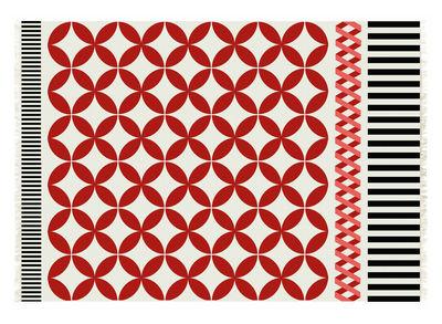 Tapis kilim catania 240 x 170 cm rouge gan - Made in design tapis ...