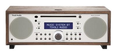 Radio réveil Music System BT Lecteur CD Bluetooth Tivoli Audio beige,noyer en bois