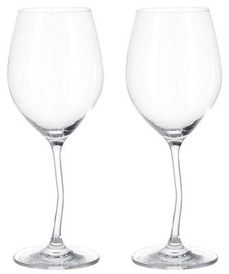 Arts de la table - Verres  - Verre à vin Modella / Lot de 2 - Leonardo - Transparent - Verre
