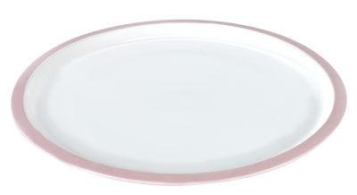 Assiette Daily Beginnings Ø 25 cm Serax blanc,rose en céramique
