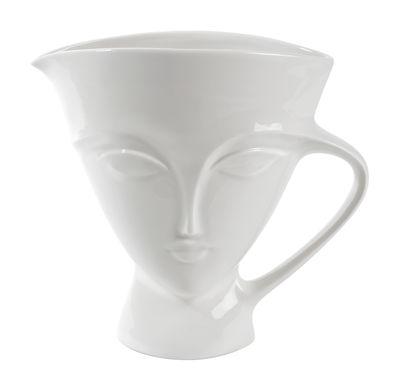 Arts de la table - Carafes et décanteurs - Décanteur Giuliette / 204 cl - Jonathan Adler - Blanc - Porcelaine
