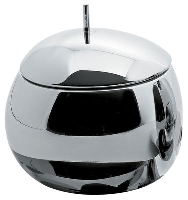 Kitchenware - Sugar Bowls, Milk Pots & Creamers - Fruit basket Sugar bowl by Alessi - Steel - Stainless steel