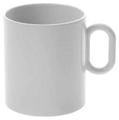 Arts de la table - Tasses et mugs - Mug Dressed - Alessi - Blanc - Porcelaine