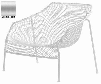 Poltrona bassa Heaven di Emu - Alluminio - Metallo
