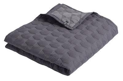 Déco - Textile - Plaid Polygon / 220 x 260 cm - Trapuntato - Hay - Charbon - Coton, Polyester