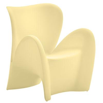 Poltrona Lily di MyYour - Avorio opaco - Materiale plastico