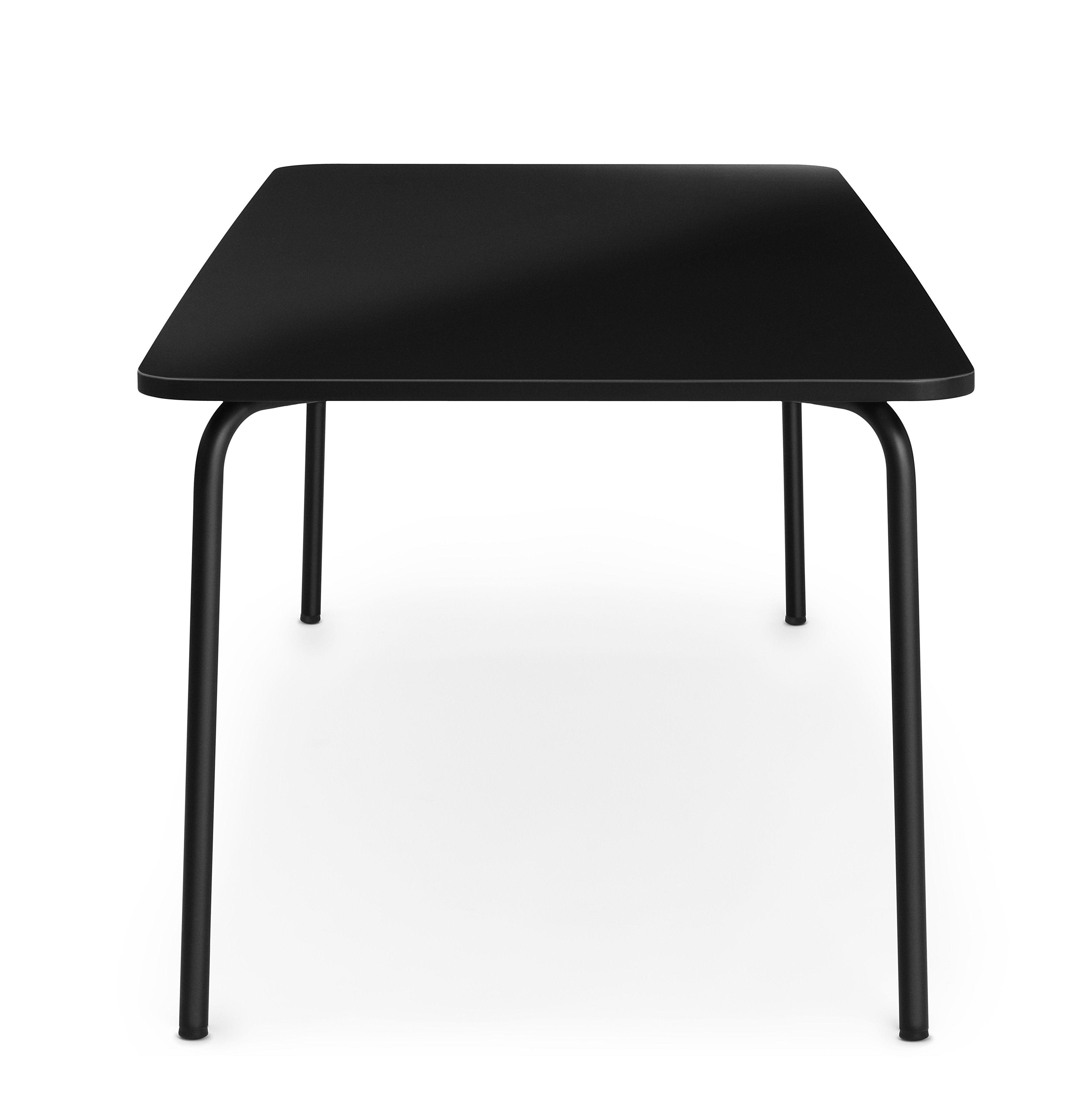 table my table large 200 x 90 cm noir normann copenhagen. Black Bedroom Furniture Sets. Home Design Ideas