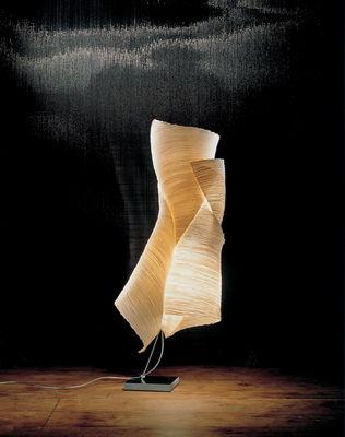 lampe de sol the mamo nouchies ysmen papier nature ingo maurer. Black Bedroom Furniture Sets. Home Design Ideas