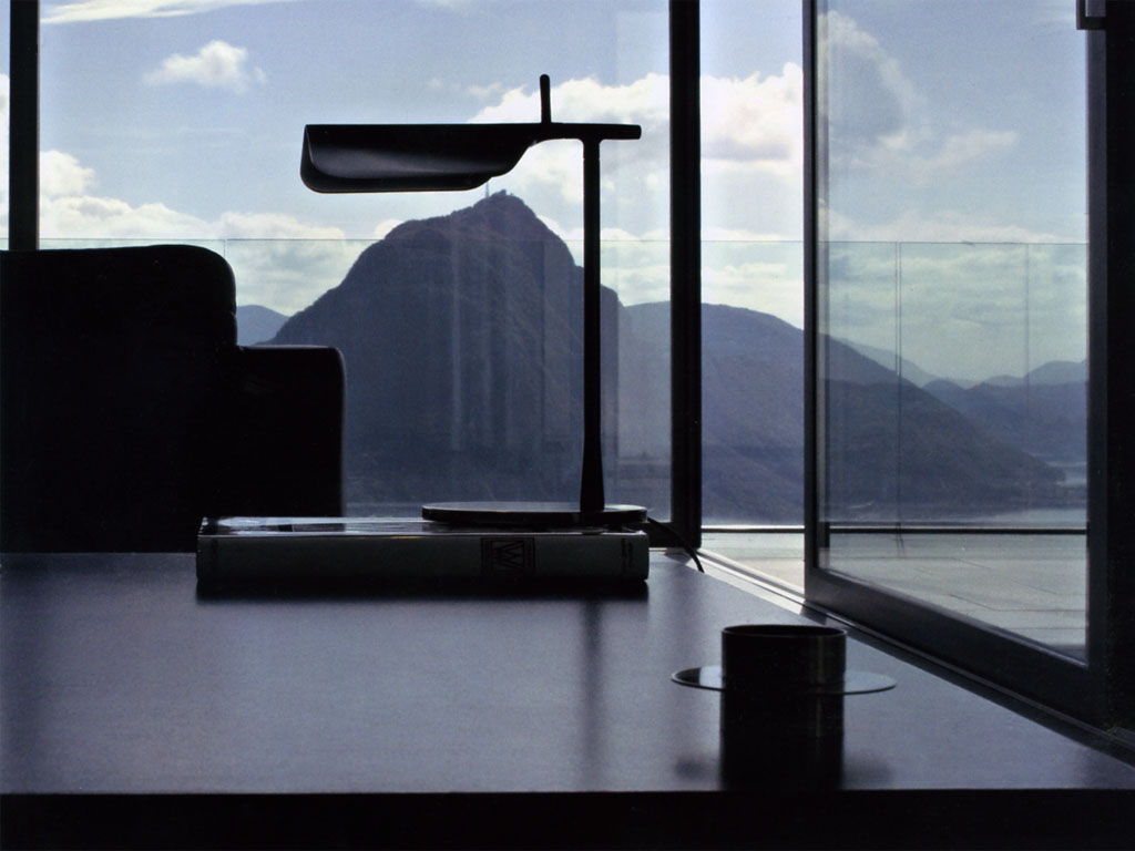 Tab T Led Table Lamp Table Lamp Led Black By Flos Made