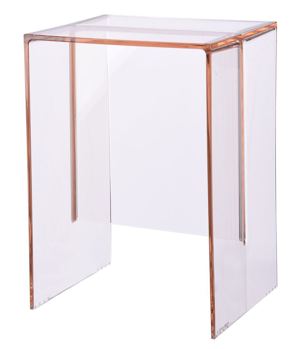 max beam end table stool nude pink by kartell. Black Bedroom Furniture Sets. Home Design Ideas