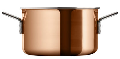 Kitchenware - Pots & Pans - Copper Stew pot - Ø 20 cm - 3,9 L by Eva Trio - Copper - Aluminium, Copper, Steel