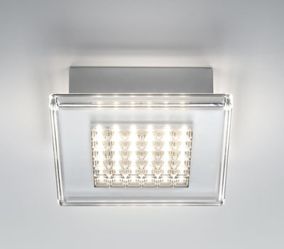 Quadriled Wandleuchte LED