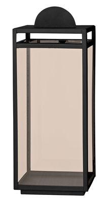 Lanterne Turris / H 40 cm - AYTM noir,ambre en métal
