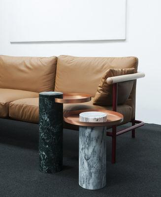 canap droit x ray l 253 cm 3 places cuir cuir naturel structure rouge bleu bois. Black Bedroom Furniture Sets. Home Design Ideas