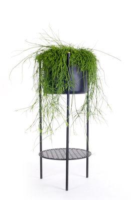 Jardin - Pots et plantes - Pot de fleurs Ent Medium / H 78 cm - Métal - XL Boom - Noir - Acier laqué époxy
