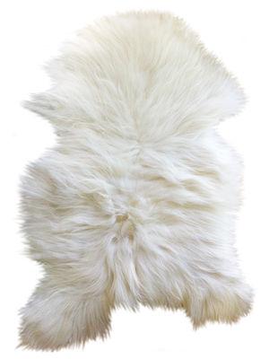 Foto Pelle di pecora One Moumoute - / Pelo lungo - 50 x 100 cm di FAB design - Bianco - Tessuto