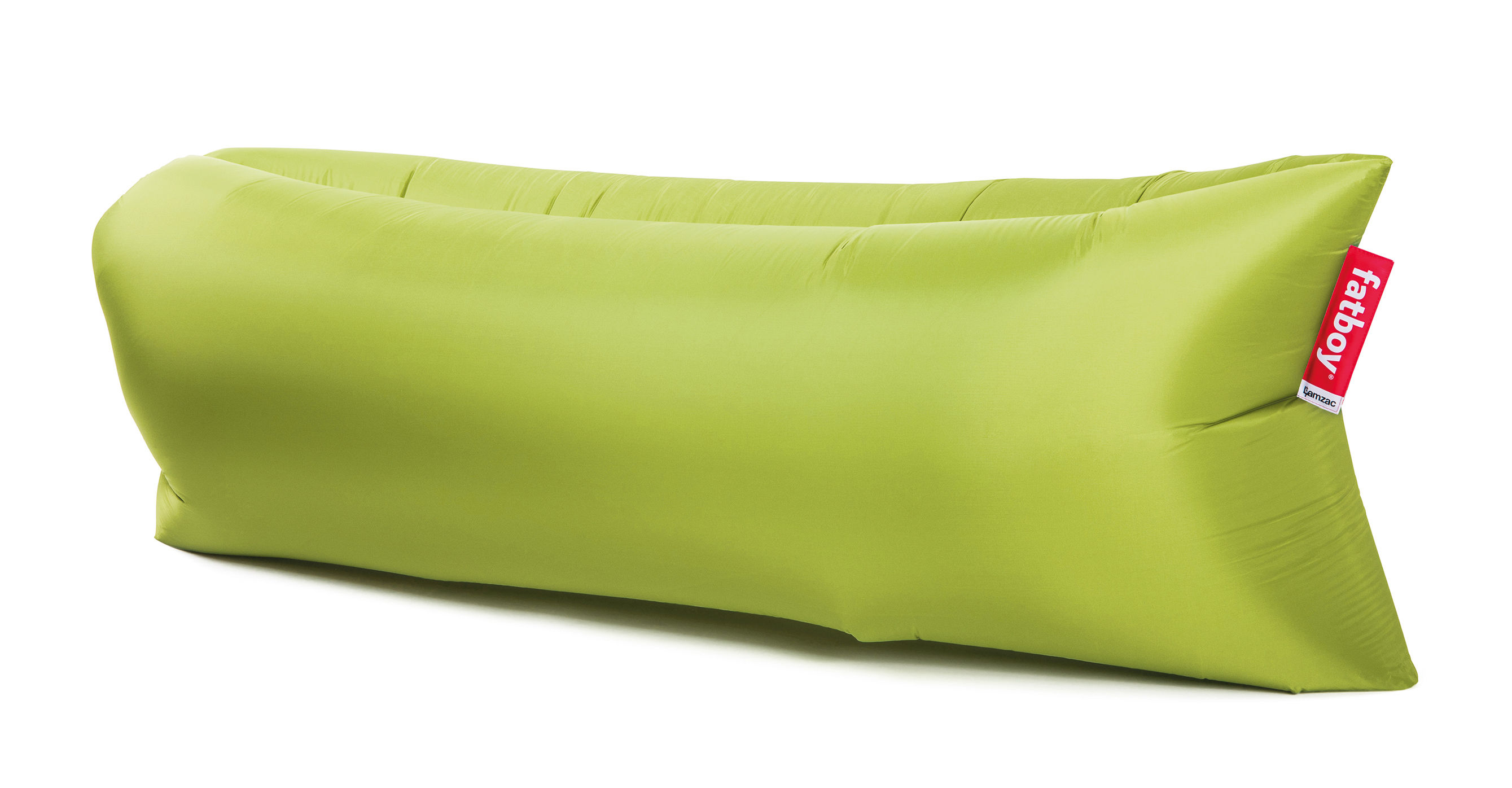 pouf gonflable lamzac the original 2 0 l 200 cm vert lime fatboy. Black Bedroom Furniture Sets. Home Design Ideas
