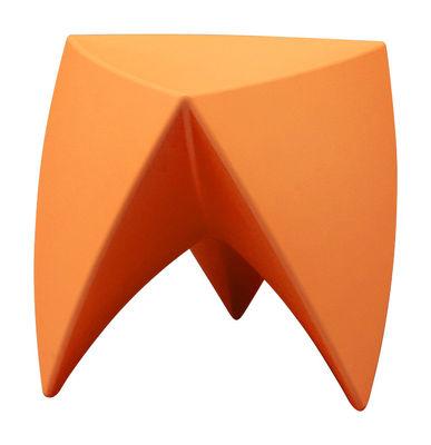 Foto Sgabello Mr. LEM di MyYour - Arancione - Materiale plastico