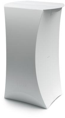 Mobilier - Mange-debout et bars - Mange-debout Column / H 109 cm - 53 x 65 cm - Flux - Blanc - Polypropylène