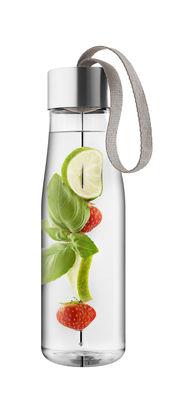 Gourde MyFlavour 0,75L Plastique écologique Pic à saveurs Eva Solo transparent,gris beige en matière plastique