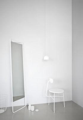 Miroir sur pied Kaschkasch / à poser - L 42 x H 175 cm Blanc - Menu