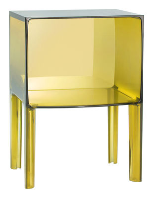 Table de chevet small ghost buster jaune kartell - Kartell table de chevet ...