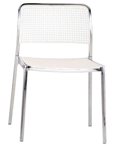 Chaise empilable audrey structure aluminium brillant for Alessi porte prezzi