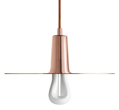 Luminaire - Suspensions - Suspension Drop Hat Model A / Métal cuivré - Plumen - Cuivre - Acier finition cuivre