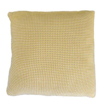 Coussin Roccamare / 45 x 45 cm - ENOstudio jaune moutarde en tissu