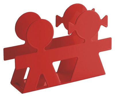 Scopri portatovaglioli di carta girotondo poplike arancione di a di alessi made in design italia - Accessori bagno alessi ...