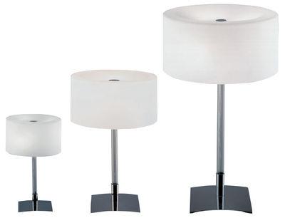 Drum lampada a stelo bianco by fontana arte made in design
