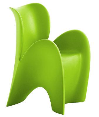 Poltrona Lily Small di MyYour - Verde opaco - Materiale plastico