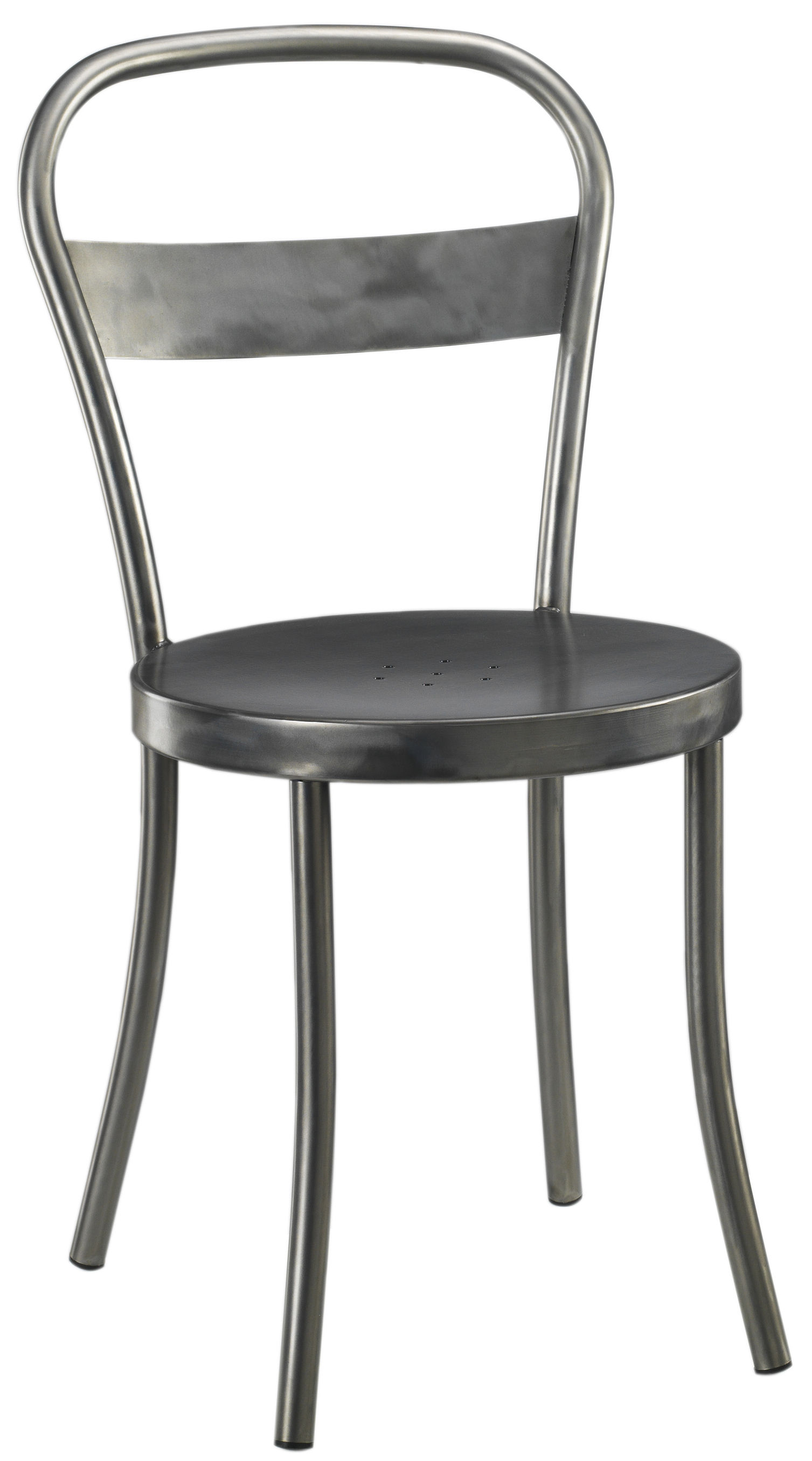 chaise ds n 1 acier bross acier bross souvignet design. Black Bedroom Furniture Sets. Home Design Ideas