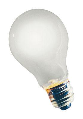 Ampoule halogène E27 / 10W - Pour luminaires Birdie - Ingo Maurer blanc en verre