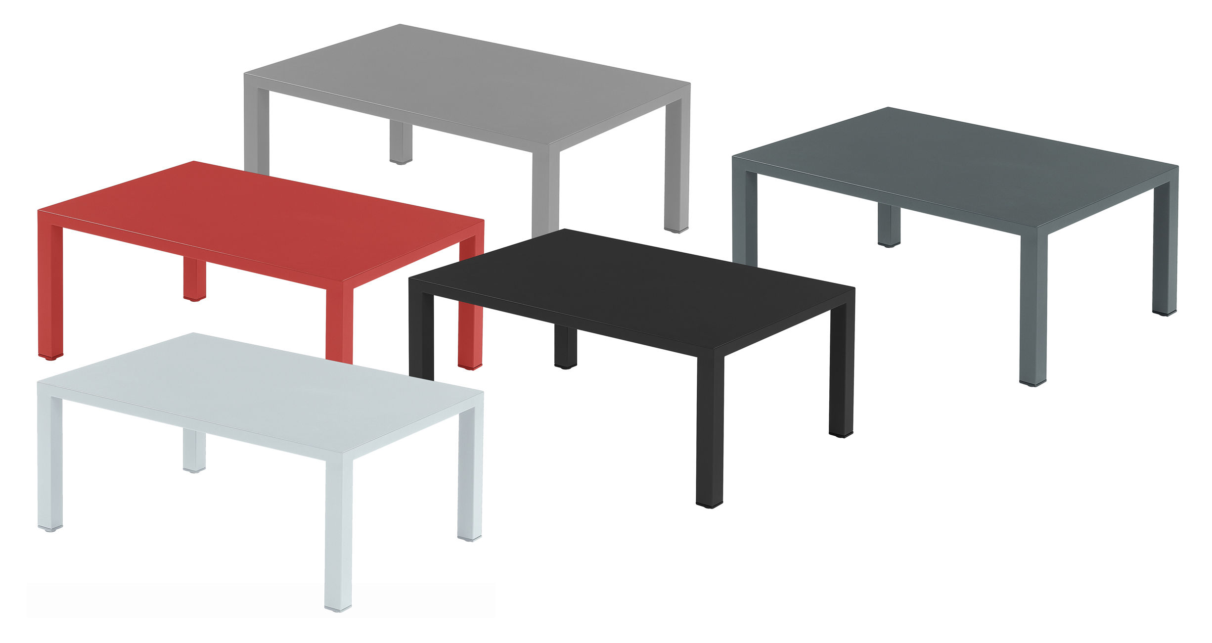 Table basse round m ta l 70 x 100 cm fer ancien emu for Table cuisine 70 x 100