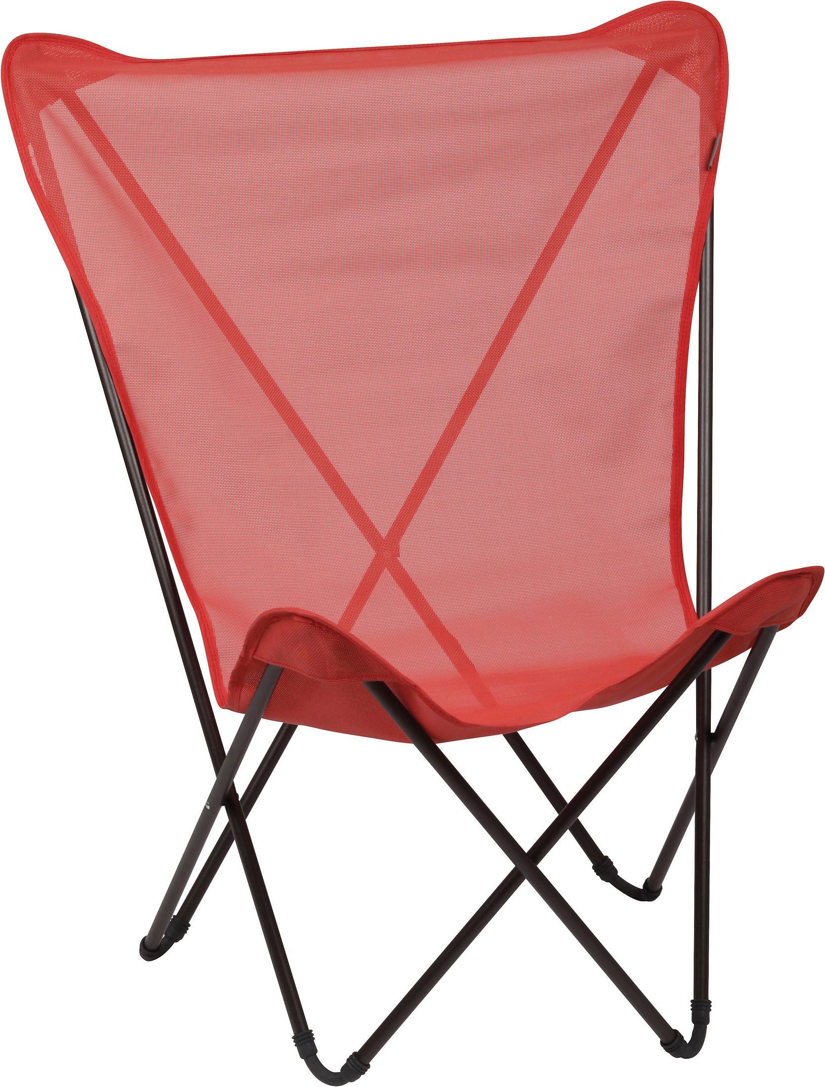 fauteuil maxi pop up pliable rouge aurore structure marron lafuma. Black Bedroom Furniture Sets. Home Design Ideas