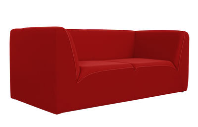 Canap droit e motion by ora ito 3 places l 189 cm rouge passepoil roug - Canape dunlopillo ora ito ...