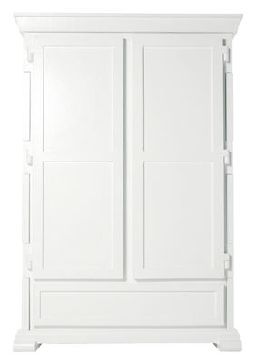Furniture - Exceptional furniture - Paper Wardrobe by Moooi - White - Cardboard, Paper