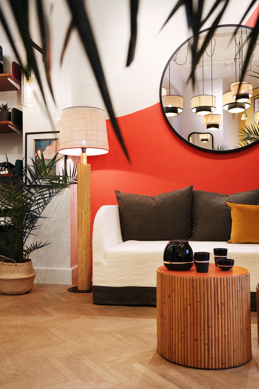 stehleuchte rattan stehlampe rattan durch billig with stehleuchte rattan top bambus rattan. Black Bedroom Furniture Sets. Home Design Ideas